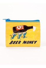 Blue Q BLUE Q COIN PURSE BEER MONEY