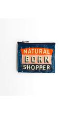 Blue Q BLUE Q COIN PURSE NATURAL BORN SHOPPER