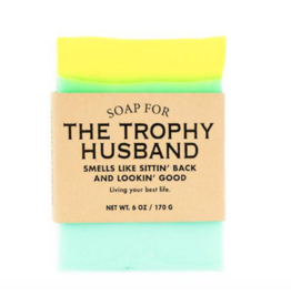 WHISKEY RIVER SOAP CO WHISKEY RIVER SOAPS TROPHY HUSBAND