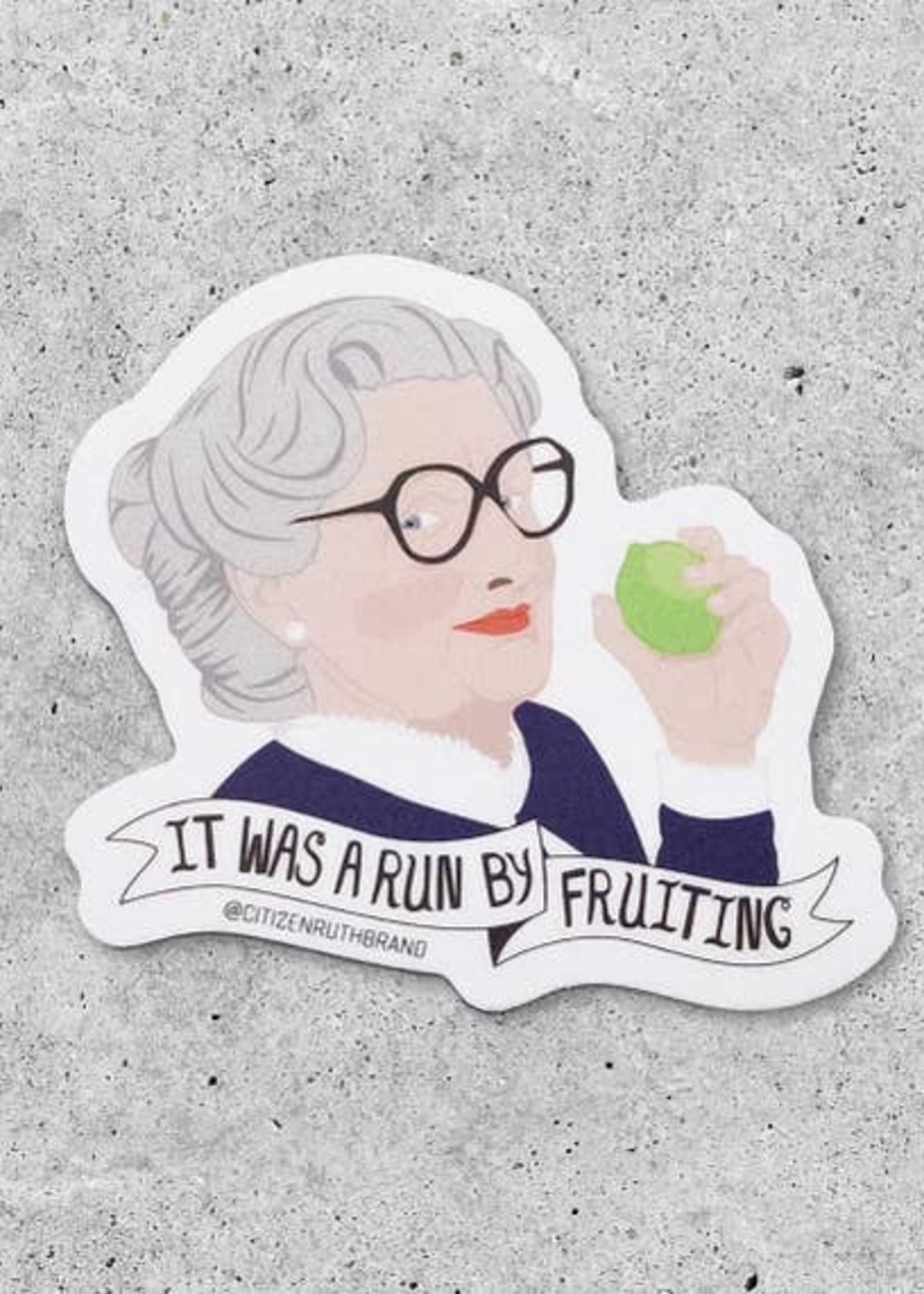 CITIZEN RUTH CITIZEN RUTH MRS DOUBTFIRE FRUITING STICKER