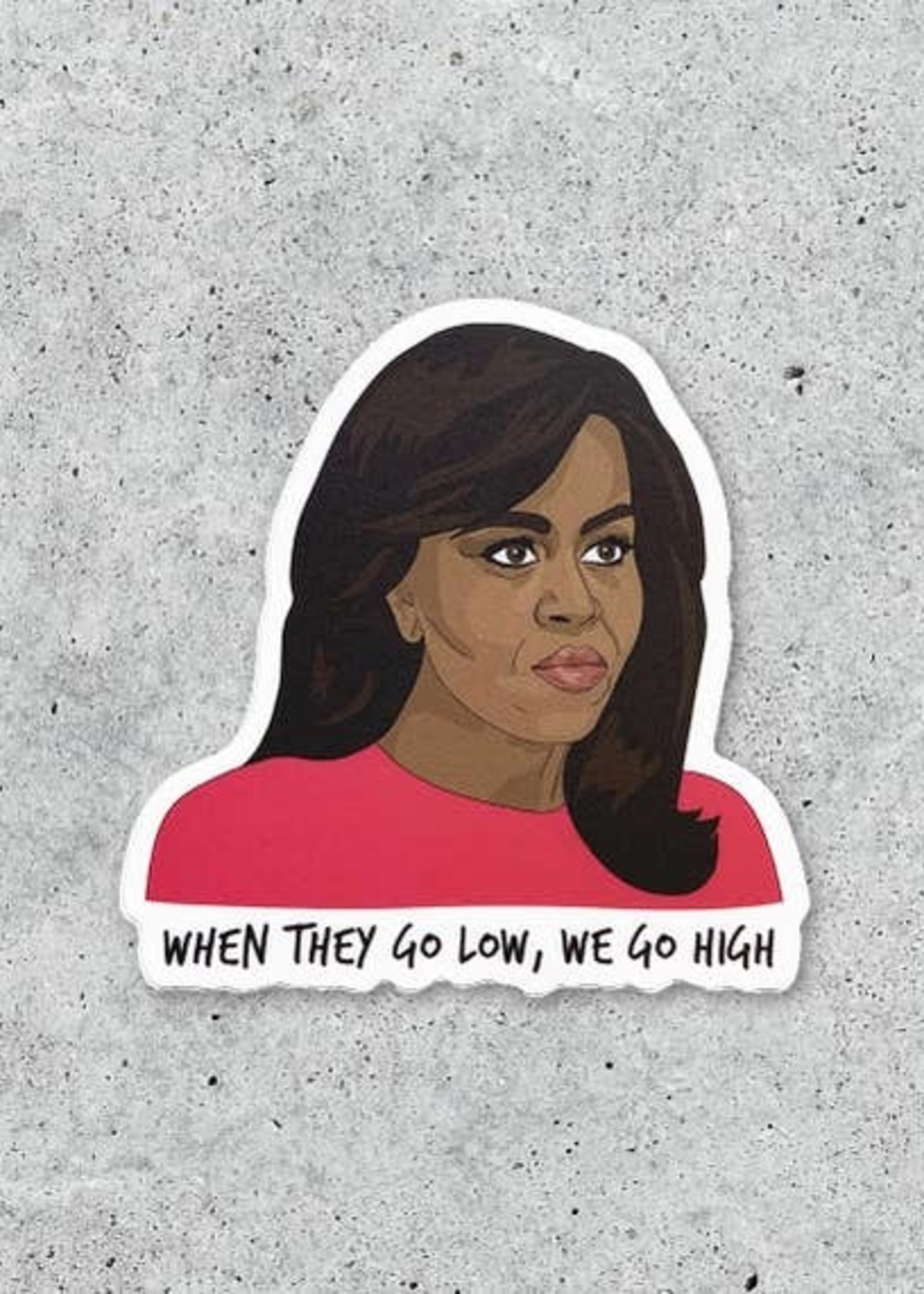 CITIZEN RUTH CITIZEN RUTH MICHELLE OBAMA STICKER