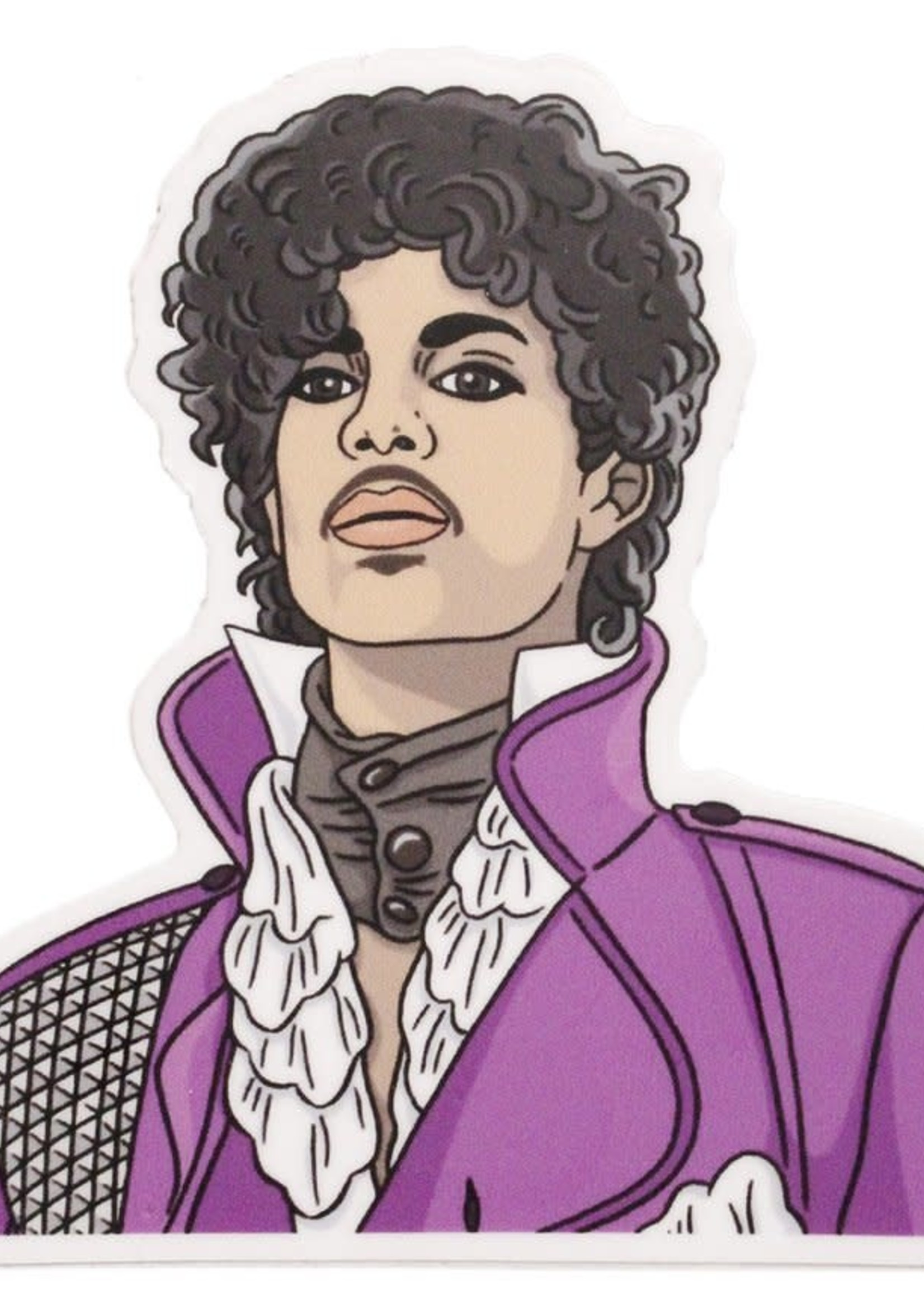 THE FOUND THE FOUND MUSICIAN STICKERS PRINCE