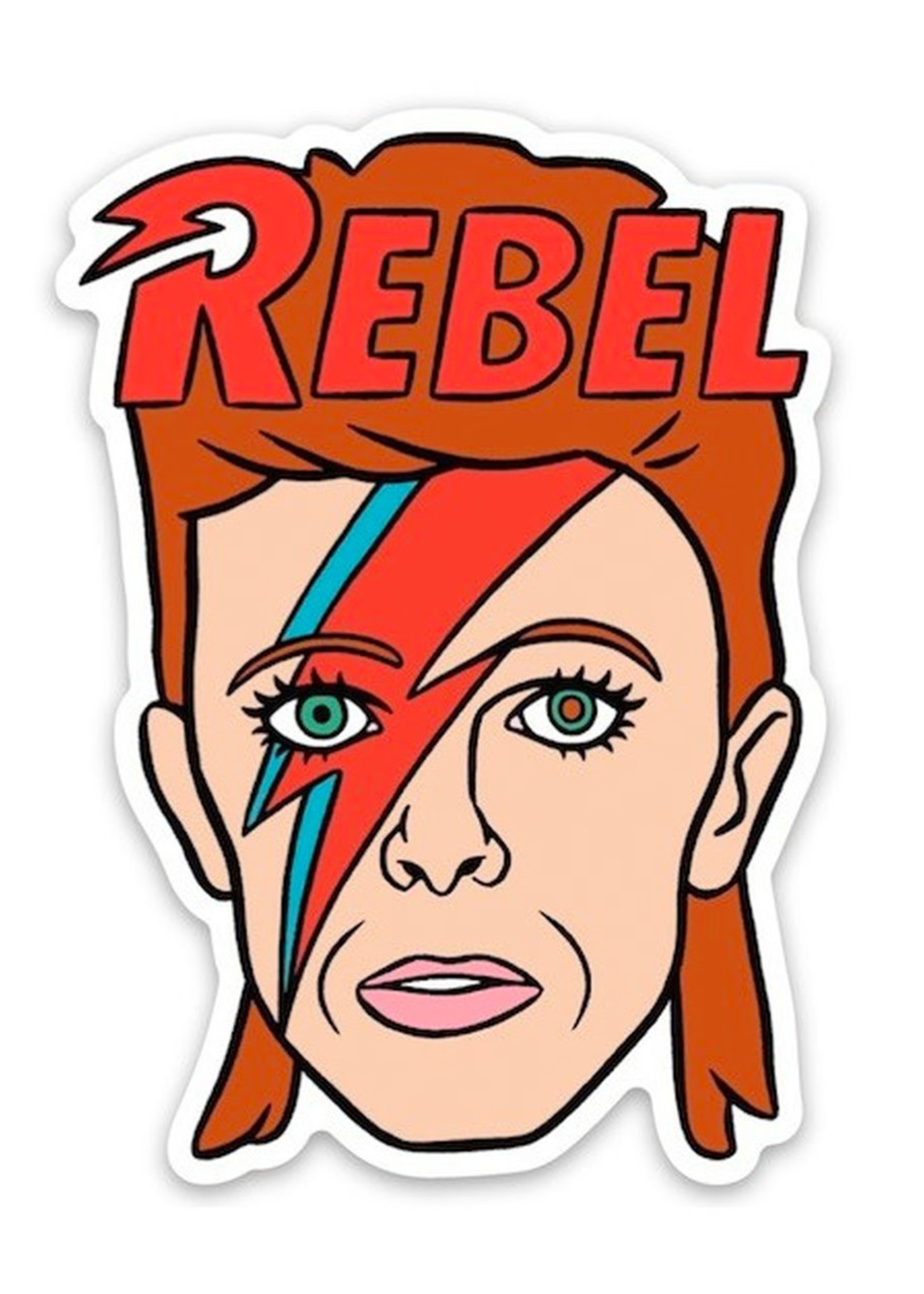 THE FOUND THE FOUND MUSICIAN STICKERS BOWIE