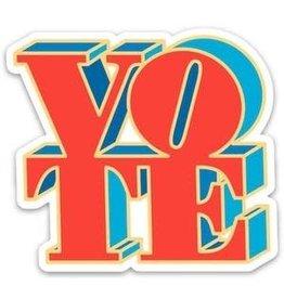THE FOUND THE FOUND POLITICAL STICKERS  VOTE