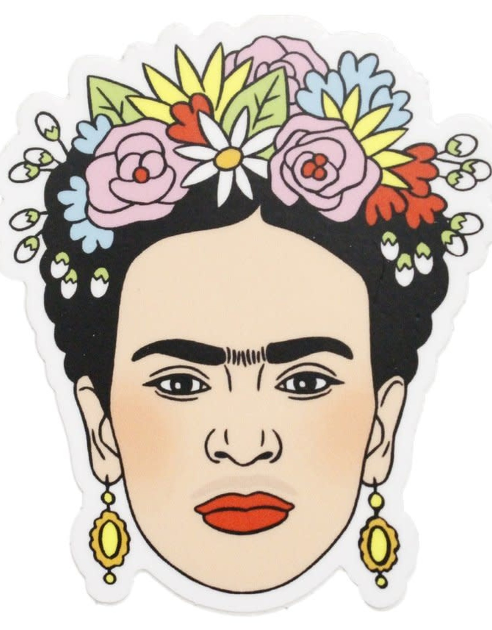 THE FOUND THE FOUND ARTIST STICKERS FRIDA FLOWER CROWN