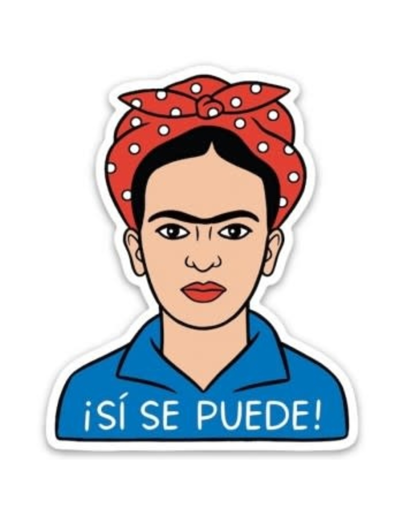 THE FOUND THE FOUND ARTIST STICKERS FRIDA SI SE PUEDE
