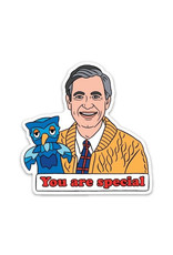 THE FOUND THE FOUND TV STAR STICKERS MR ROGERS
