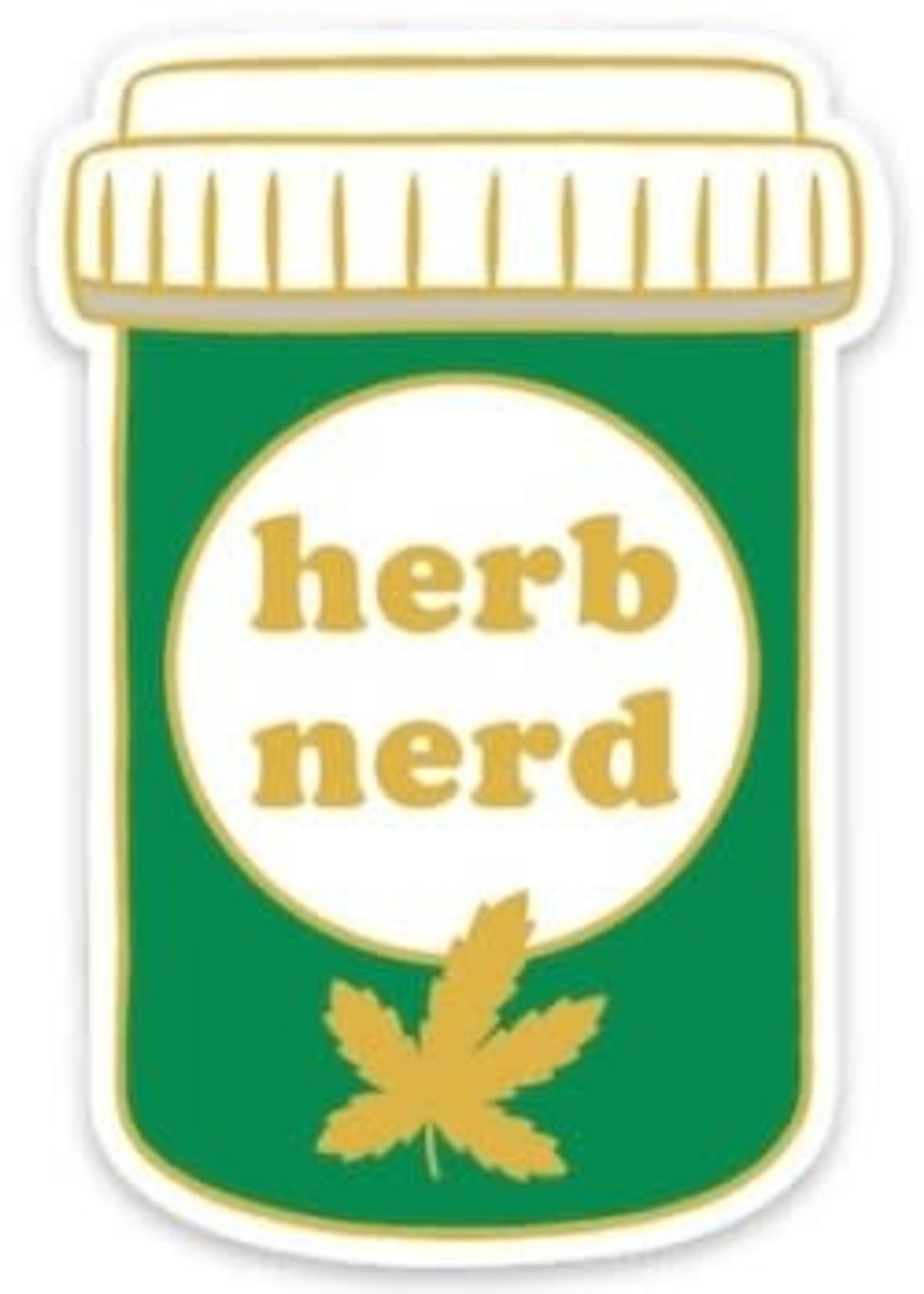 THE FOUND THE FOUND HERB NERD STICKER