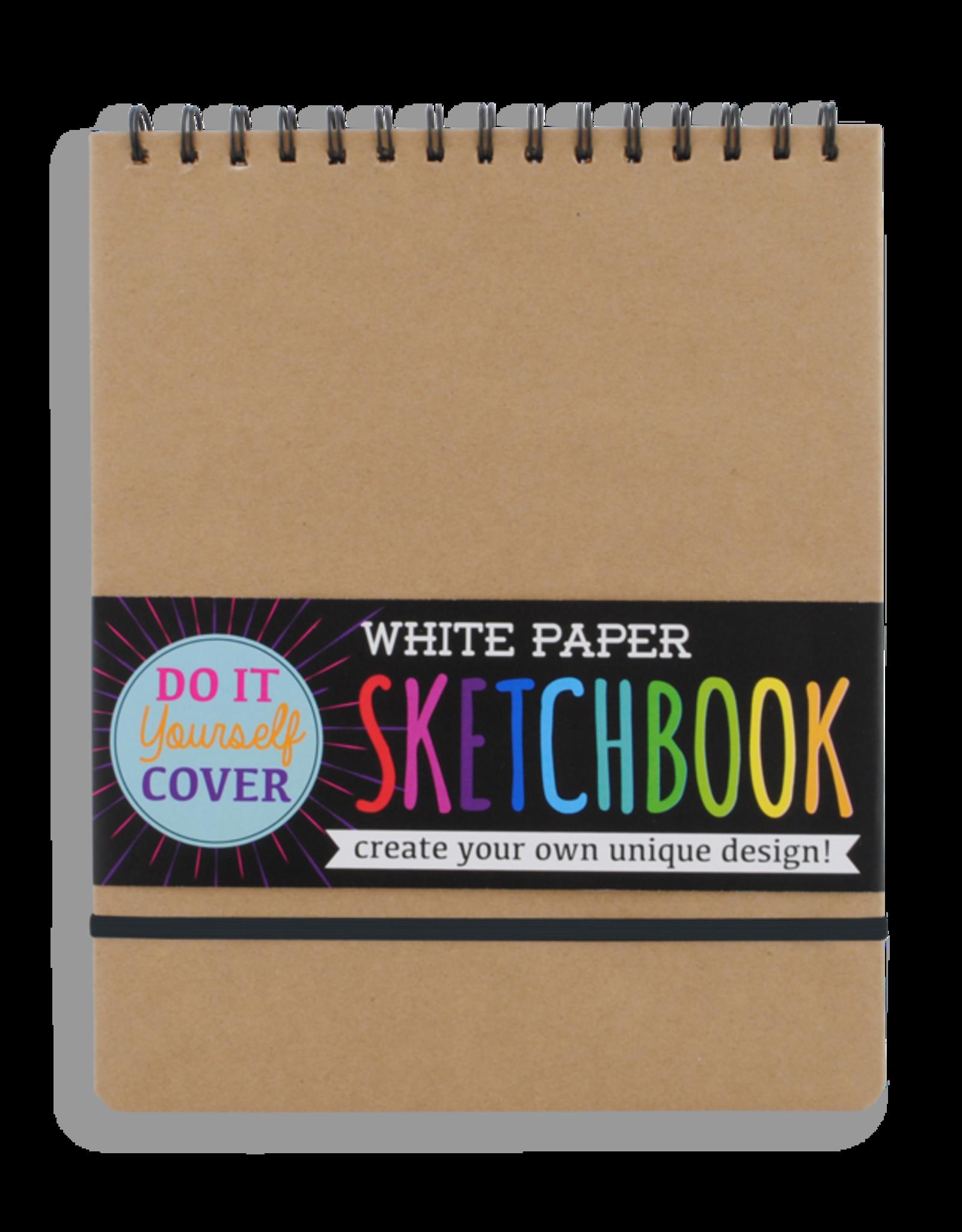 OOLY OOLY LARGE SKETCHBOOK WHITE PAPER
