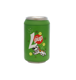 TUFFY TUFFY SILLY SQUEEKERS BEER CAN - LUCKY PUP