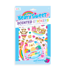 OOLY OOLY SCENTED STICKERS - BEARY SWEET