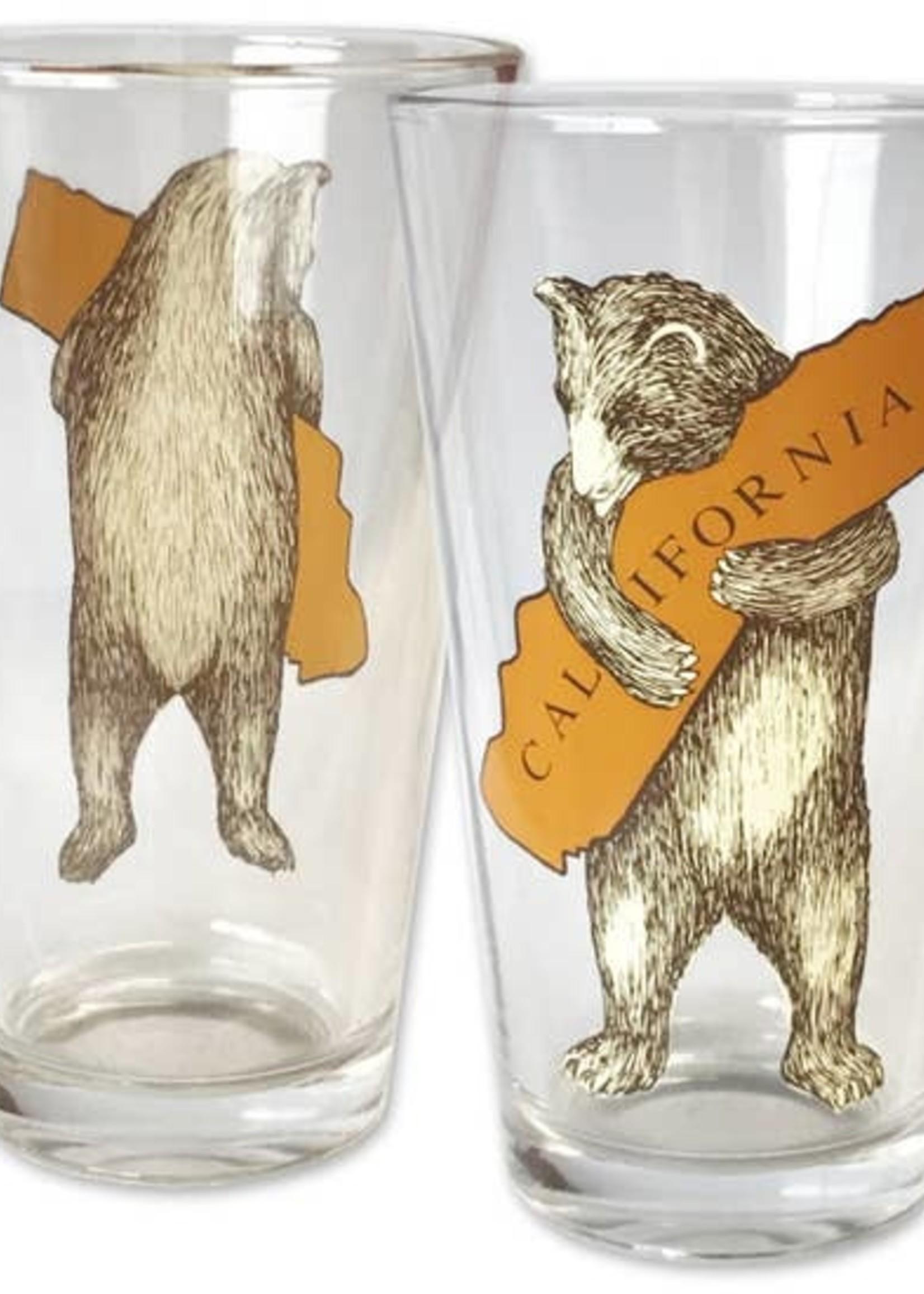 SF MERCANTILE SF MERCANTILE CA BEAR HUG PINT GLASS