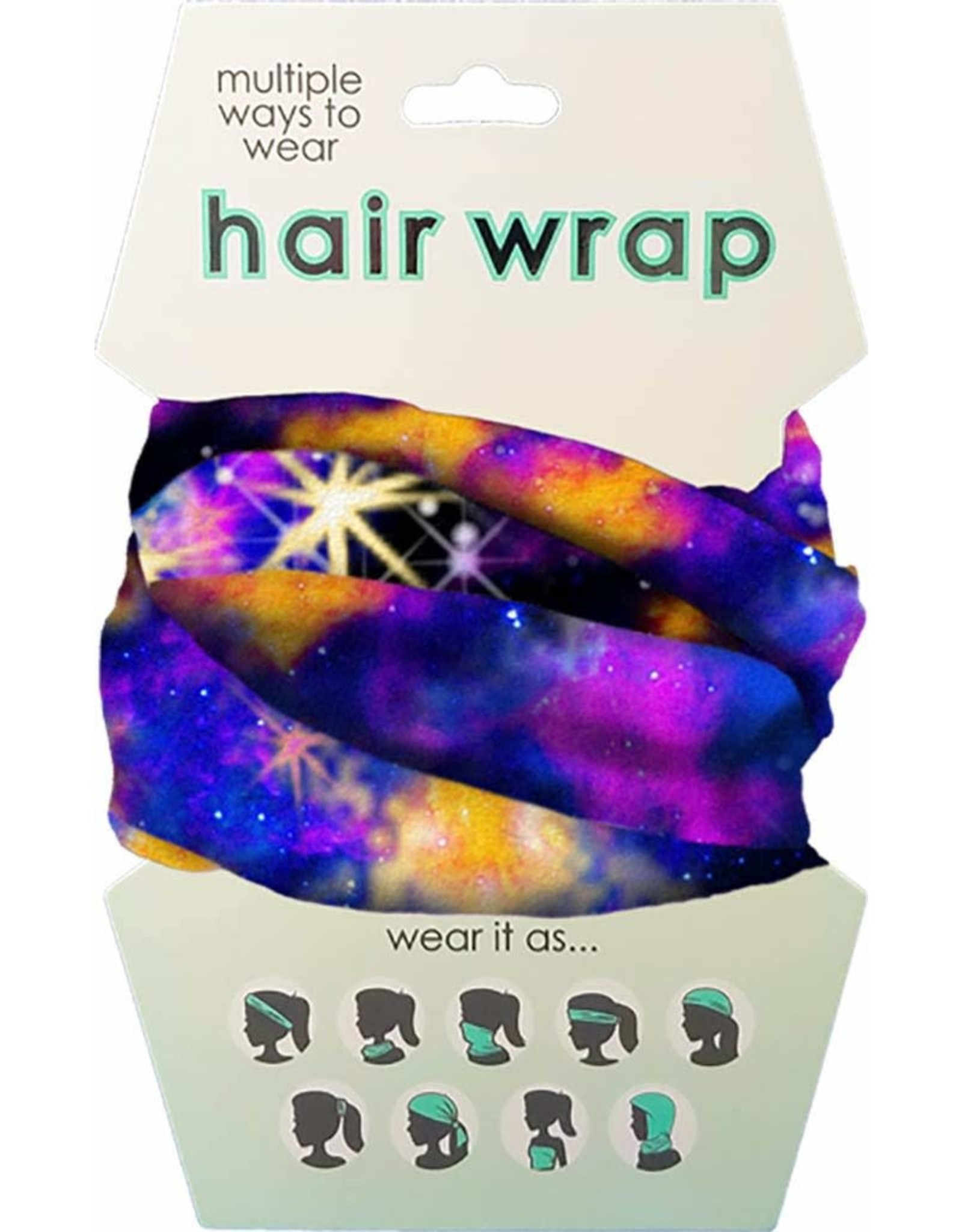 SPOONTIQUES SP NIGHT SKY FACE/HAIR WRAP