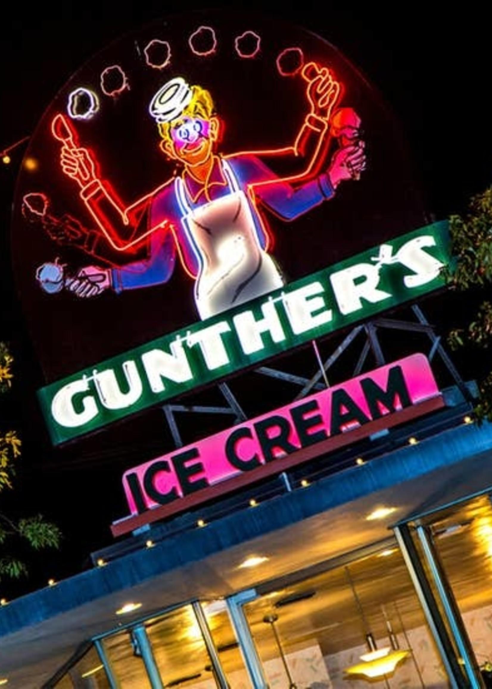SOUTH AUSTIN GALLERY SAC GUNTHER'S ICE CREAM CERAMIC TILE COASTER