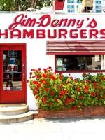 SOUTH AUSTIN GALLERY SAC JIM DENNY'S DINER CERAMIC TILE COASTER