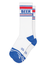 GUMBALL POODLE GUMBALL POODLE RED WHITE BLUE BEER SOCKS