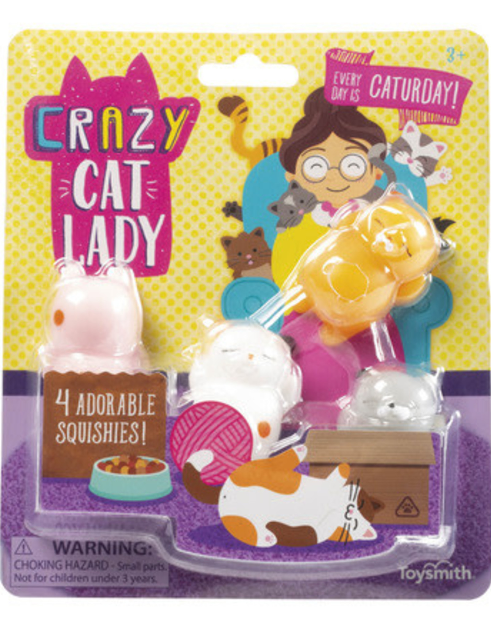 TOYSMITH TOYSMITH CRAZY CAT LADY