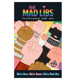 PENGUIN RANDOM HOUSE ADULT MAD LIBS WE'RE HERE WE'RE QUEER