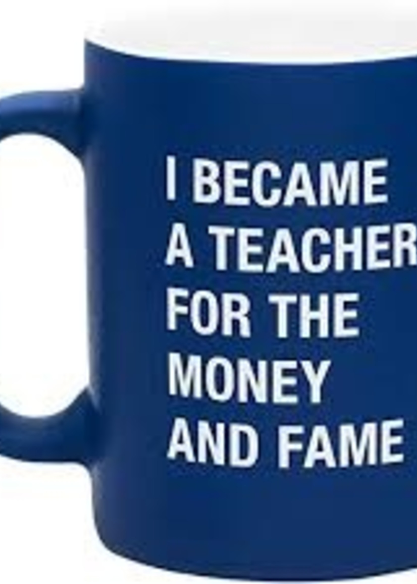 ABOUT FACE ABOUT FACE MONEY & FAME MUG
