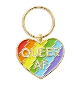 THE FOUND THE FOUND QUEER AF KEYCHAIN