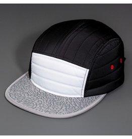 BLVNK BLVNK DAWN PATROL CAP  - WHITE AND BLACK