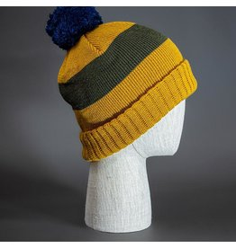 BLVNK BLVNK HAMMER BEANIE - WHEAT/LODEN/LIGHT NAVY