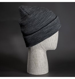 BLVNK BLVNK BROOKLYN BEANIE - HEATHER CHARCOAL