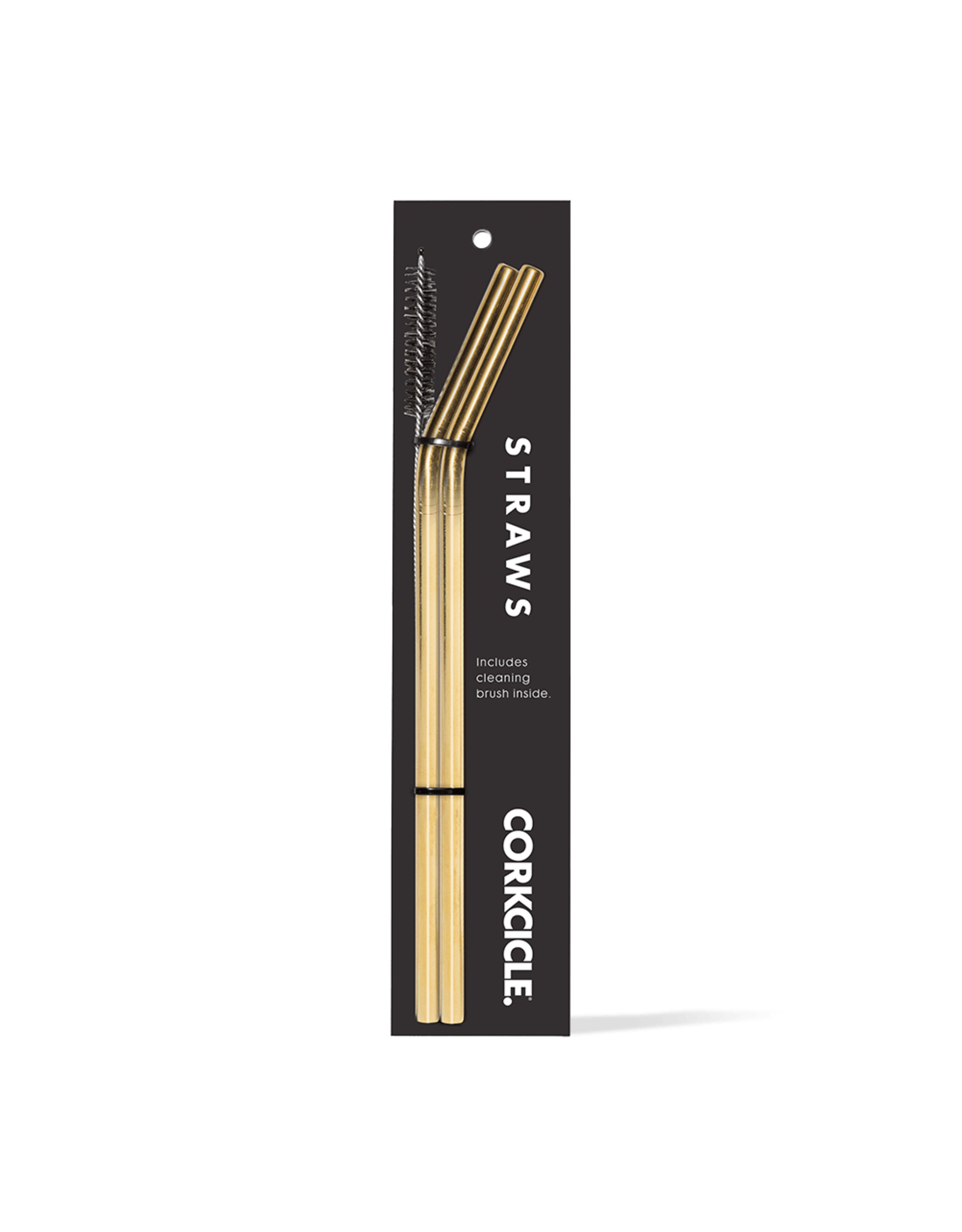 CORKCICLE CORKCICLE GOLD STRAWS