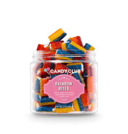 CANDY CLUB CANDY CLUB  RAINBOW BITES SMALL