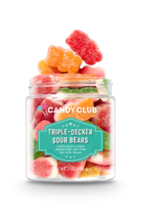 CANDY CLUB CANDY CLUB TRIPLE-DECKER SOUR BEARS  SMALL