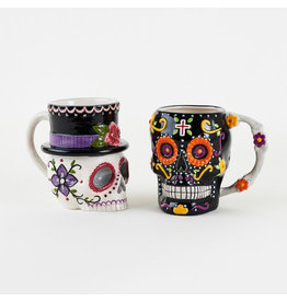 180 DEGREES 180 DEGREES ASSORTED DAY OF THE DEAD MUG