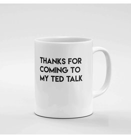 CRIMSON & CLOVER TED TALK MUG
