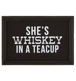 CREATIVE COOP CCOOP SHES WHISKEY SIGN