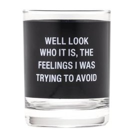 ABOUT FACE ABOUT FACE FEELINGS ROCKS GLASS