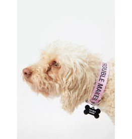 ABOUT FACE ABOUT FACE TROUBLE MAKER L/XL DOG COLLAR