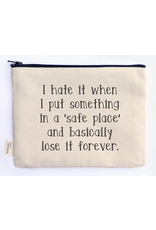 ELLEMBEE HOME ELLEMBEE POUCH SAFE PLACE