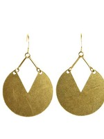 SUNDAY GIRL DEMI DISK EARRINGS-ER-128