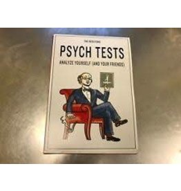 Chronicle Books THE REDSTONE PSYCH TESTS