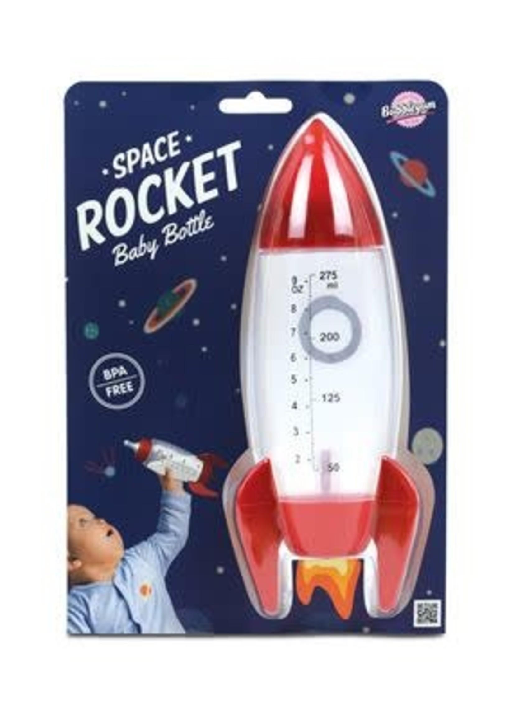 BUBBLEGUM STUFF SPACE ROCKET BABY BOTTLE