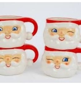 """180 DEGREES 180 DEGREES SANTA CUP 4""""  ASSORTED"""