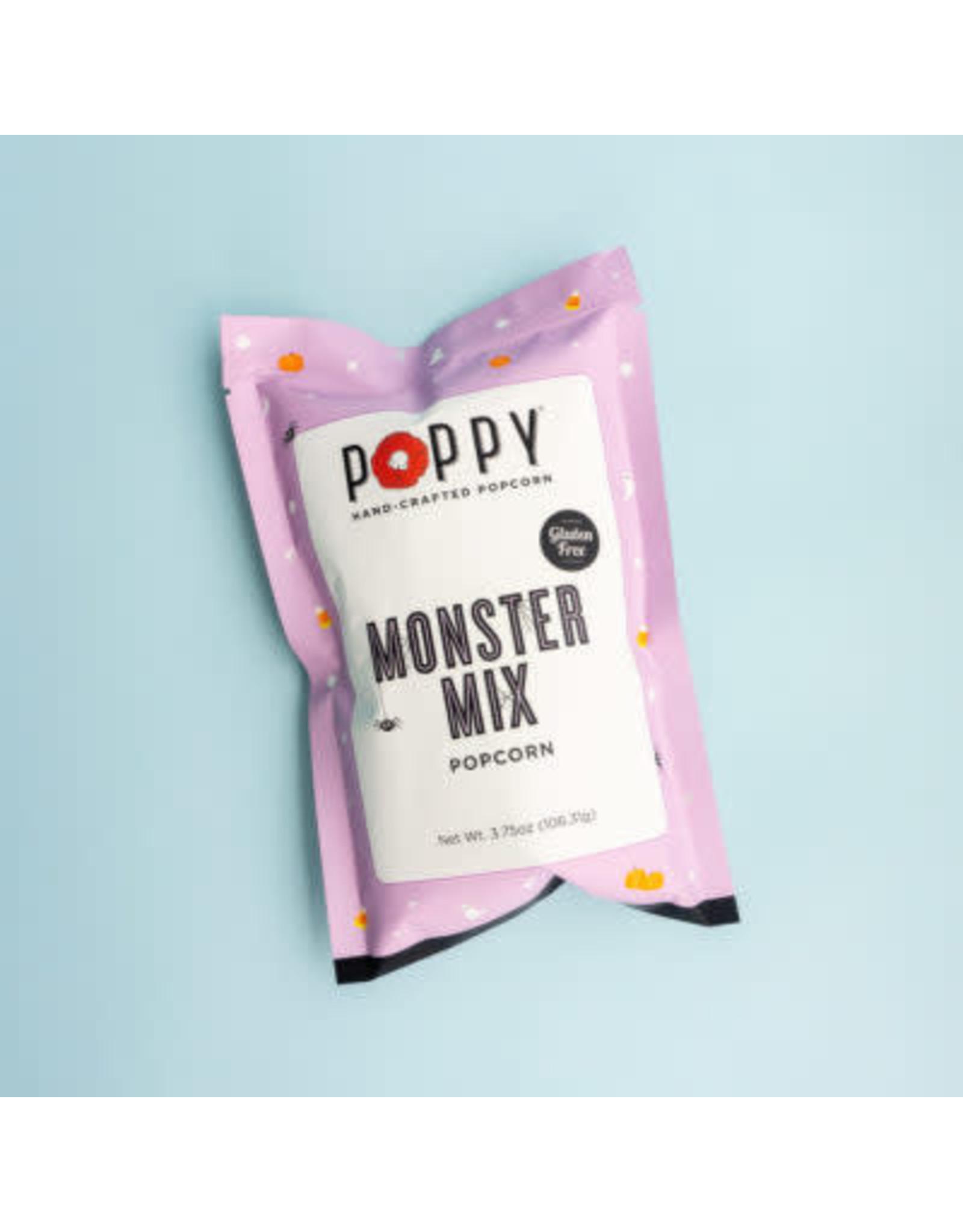 POPPY POPCORN POPPY POPCORN SNACK BAG- MONSTER MIX