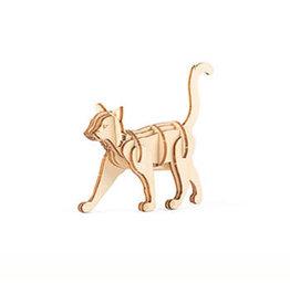 Kikkerland KIKKERLAND CAT  WOOD PUZZLE
