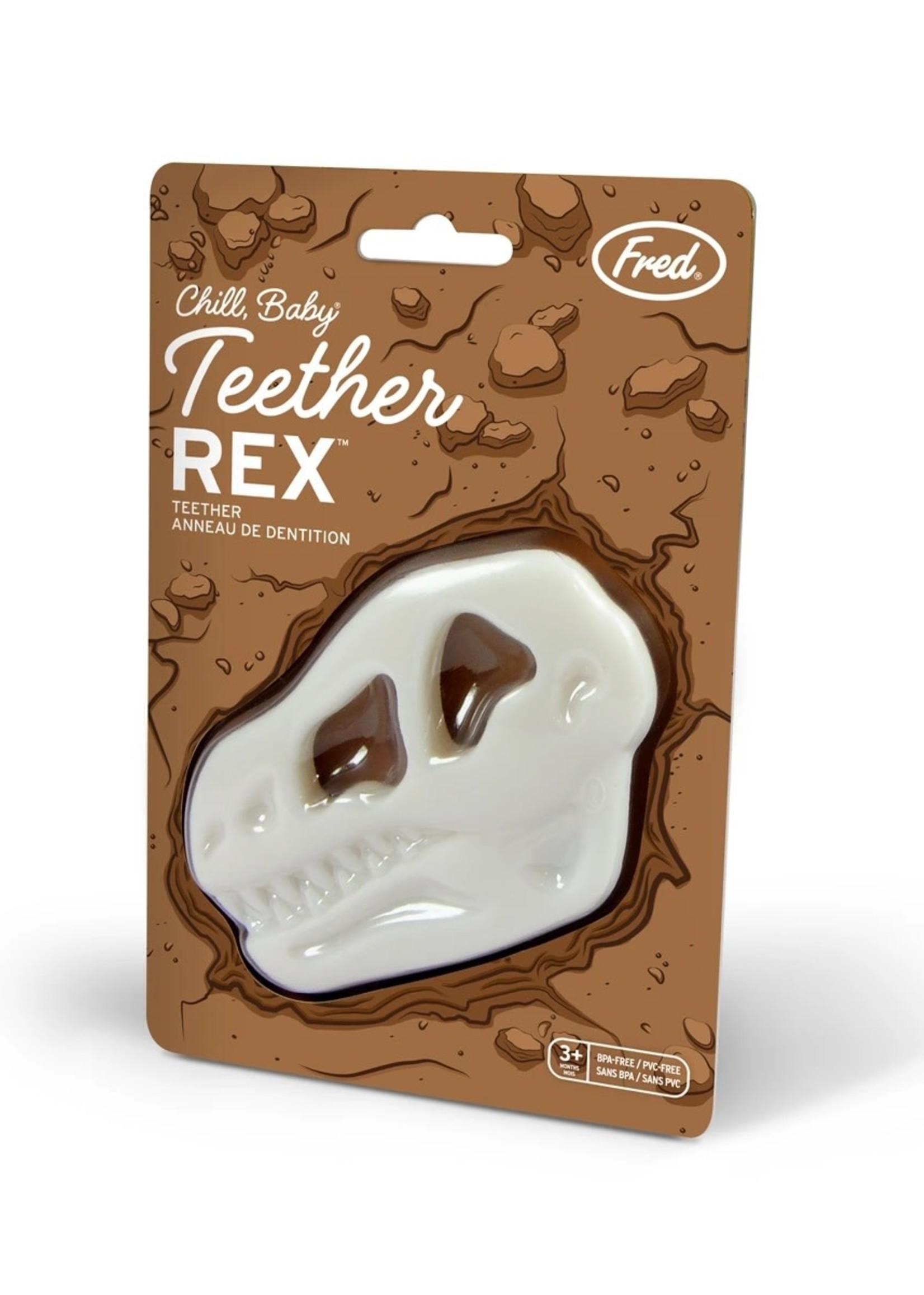 Fred & Friends CHILL BABY TEETHER REX