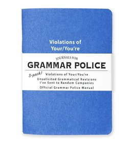 WHISKEY RIVER SOAP CO WHISKEY RIVER JOURNALS: GRAMMAR POLICE