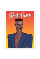 THE FOUND THE FOUND STICKERS GRACE JONES FIERCE
