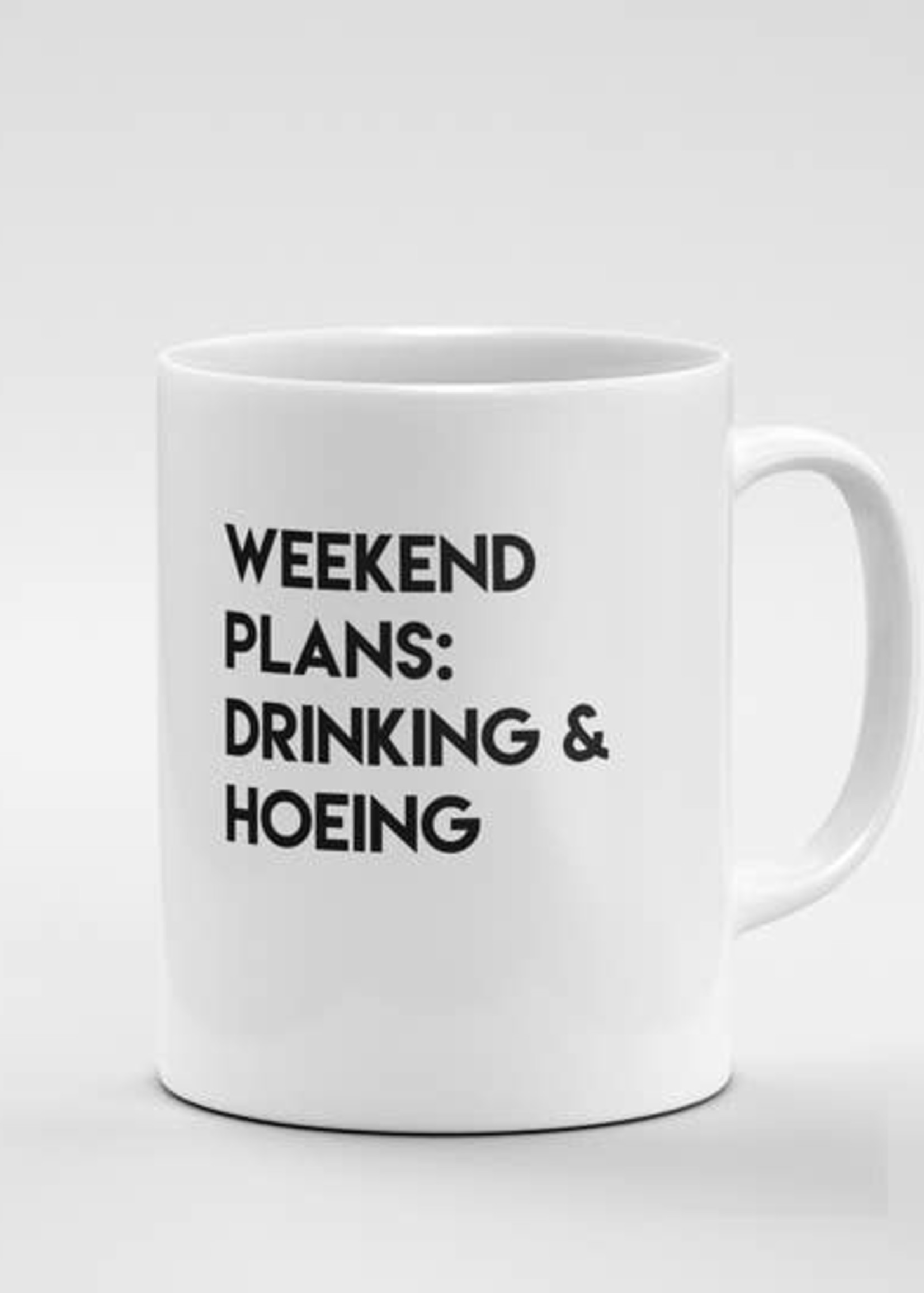 CRIMSON & CLOVER CRIMSON AND CLOVER WEEKEND PLANS MUG
