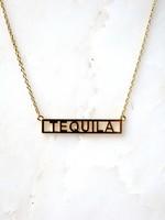 HE SAID SHE SAID HE SAID, SHE SAID NECKLACE - TEQUILA