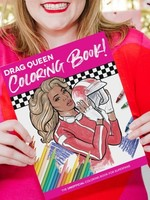 HELLO HARLOT HELLO HARLOT DRAG RACE COLORING BOOK