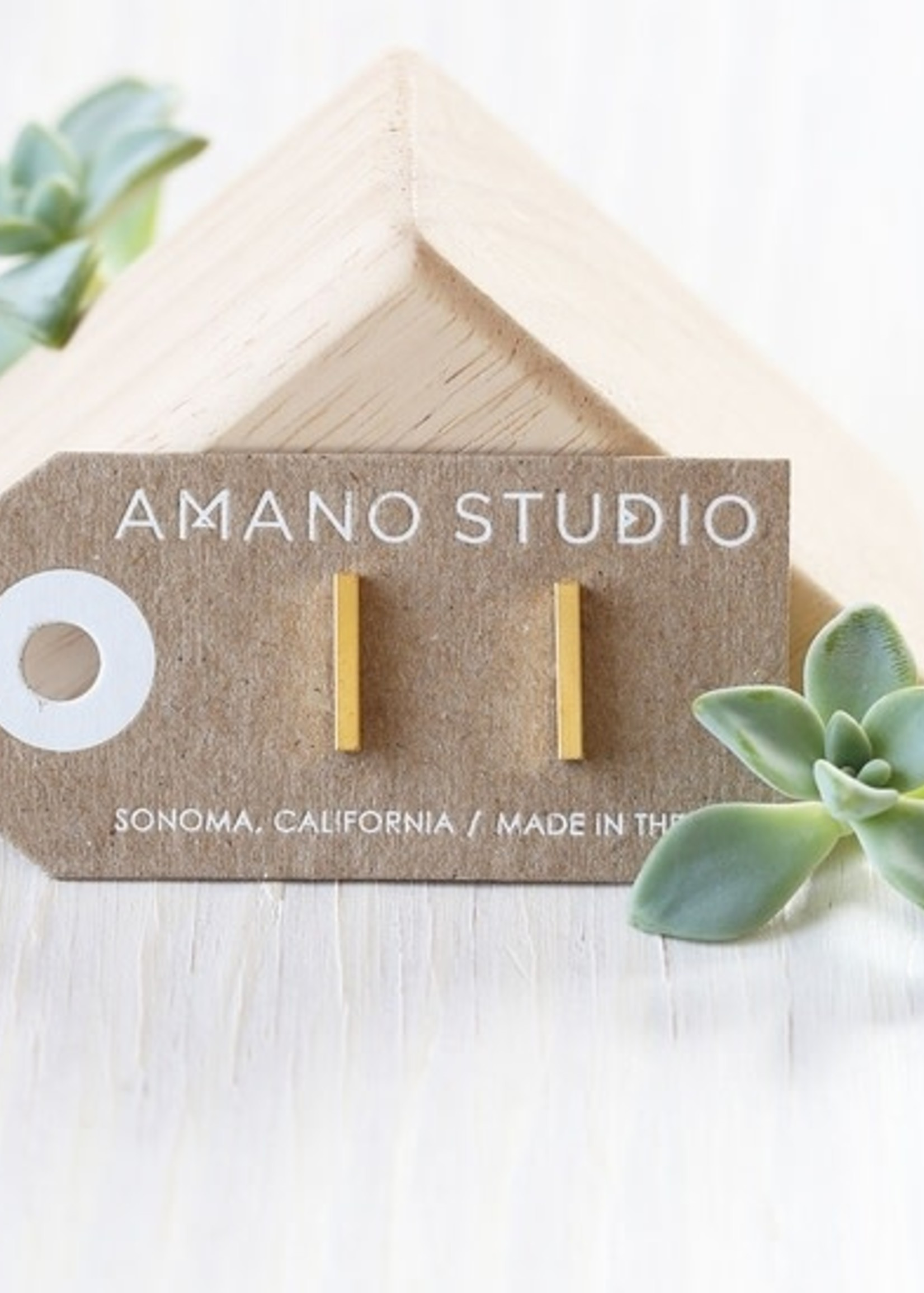 AMANO TRADING INC AMANO GOLD BAR  STUDS