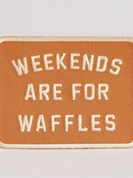 PYKNIC PYKNIC WEEKENDS ARE FOR WAFFLES PATCH
